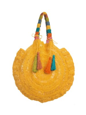 Arte y Tejido, Chorrera, Mochila, Tejida, Knitted, Crochet, Natural Fibers, Algodón, Cotton, Fibras Naturales, Bag, Tanimuka, Frenesí, Mochila Tanimuka