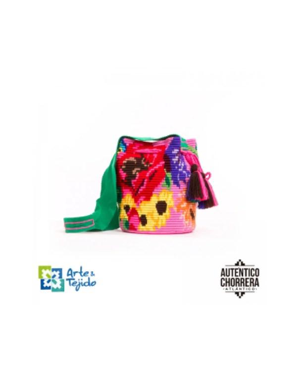 Arte y Tejido, Mochila Trinitaria, Chorrera, Mochila, Tejida, Knitted, Crochet, Natural Fibers, Algodón, Cotton, Fibras Naturales, Bag, Trinitaria