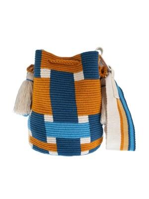 Arte y Tejido, Mochila Weavy, Chorrera, Mochila, Tejida, Knitted, Crochet, Natural Fibers, Algodón, Cotton, Fibras Naturales, Bag, Weavy