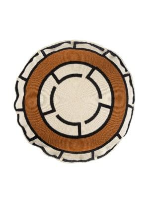 Arte y Tejido, Chorrera, Cojín, Cushion, Tejido, Knitted, Crochet, Natural Fibers, Algodón, Cotton, Fibras Naturales, Zanzibar, Cojín Zanzibar, Zanzibar Cushion