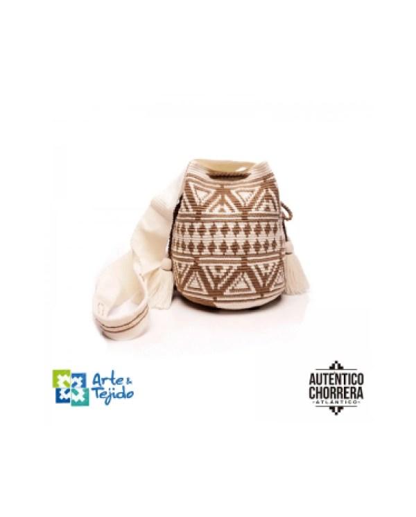 Arte y Tejido, Mochila Zulu, Chorrera, Mochila, Tejida, Knitted, Crochet, Natural Fibers, Algodón, Cotton, Fibras Naturales, Bag, Zulu