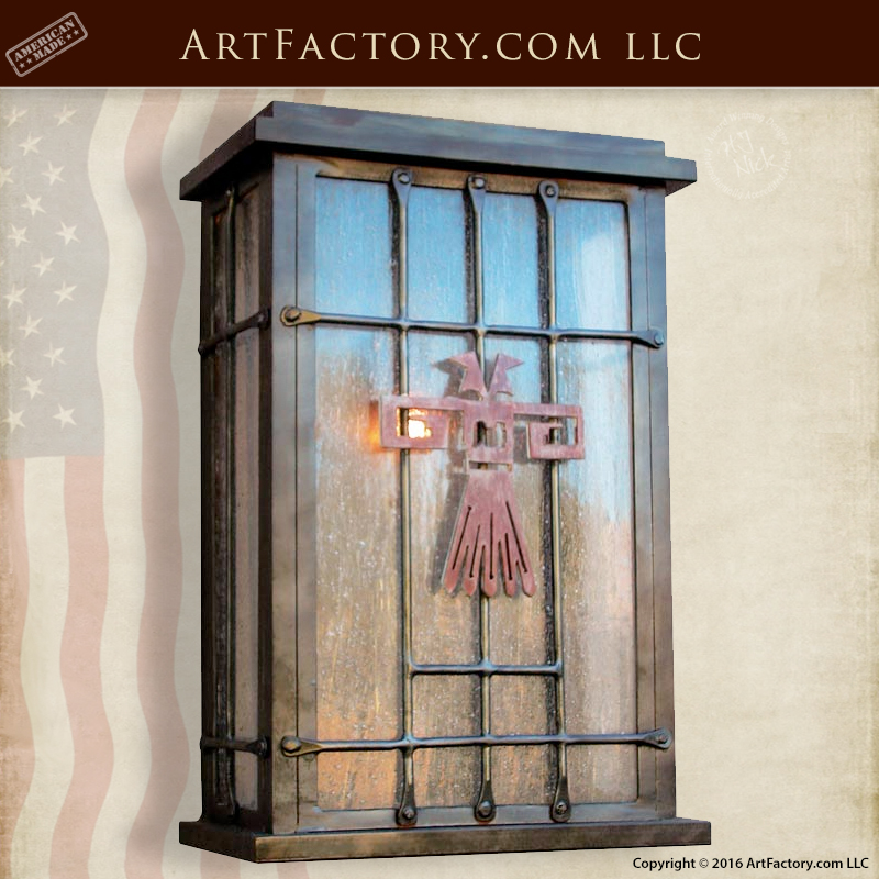 Wrought Iron Craftsman Lighting