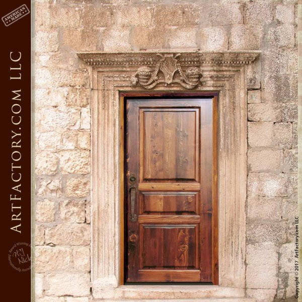 three panel door