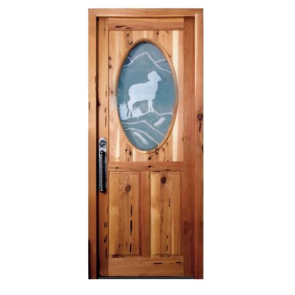 German style custom door