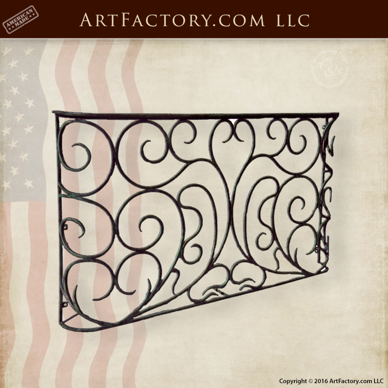 Hand Forged Tuscan Style Balcony