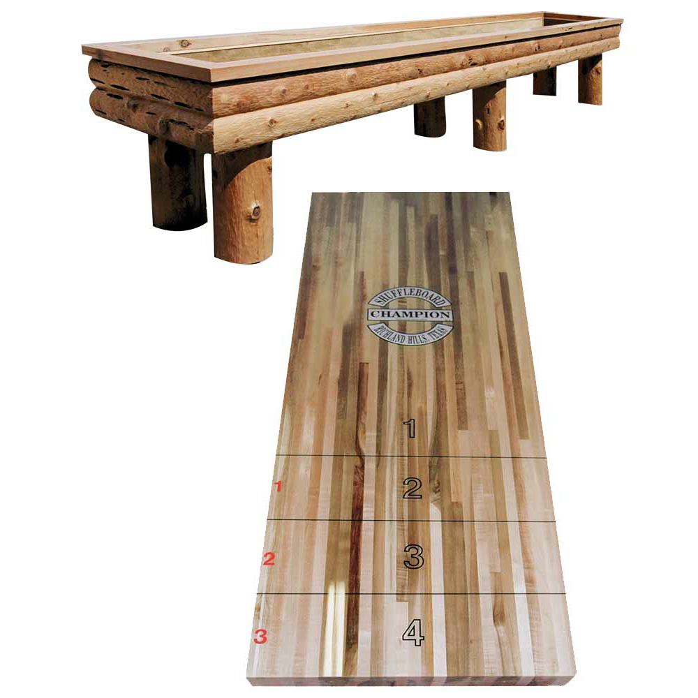 Shuffleboard American Old West Inspired 1850
