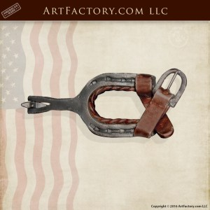 Western Boot Spur Pull