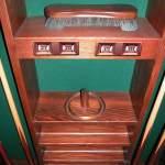 Pool Cue Cabinet Custom Pool Stick Racks