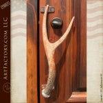 antler door pull