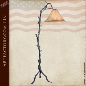 ivy inspired custom floor lamp