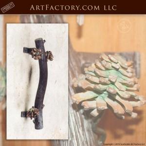 pine branch door pull