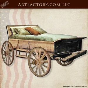 Antique Western Wagon Beds