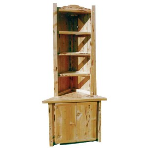 Corner Hutch Corner Display Cabinet