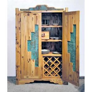 Storage Pantry Wine Display Cabinet