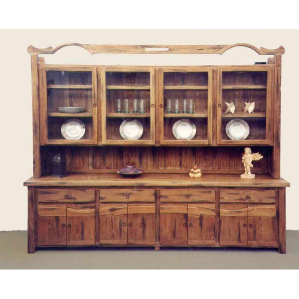 Buffet Hutch Display Cabinet 14th Cen