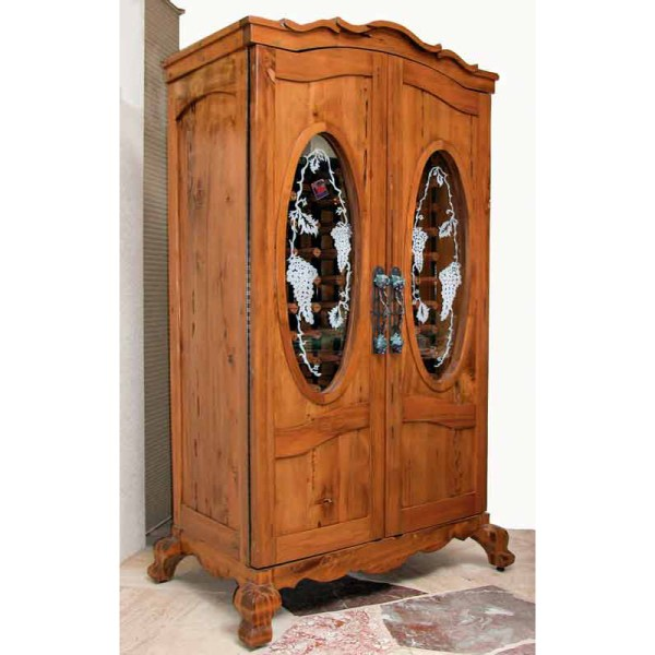 French Wine Cabinet | Wine Display Cabinet | Dining Room Display Hutch