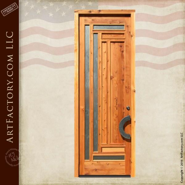 modern craftsman door