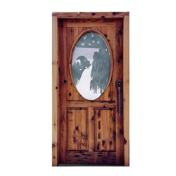 German style castle door