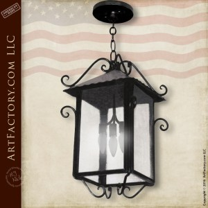 Solid Iron Pendant Lighting