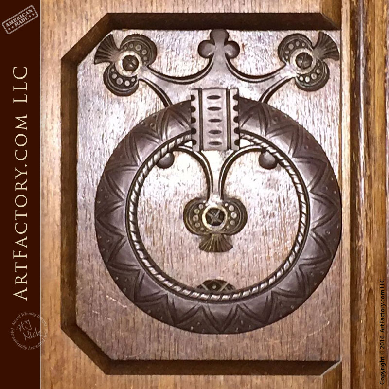 custom ring door pull