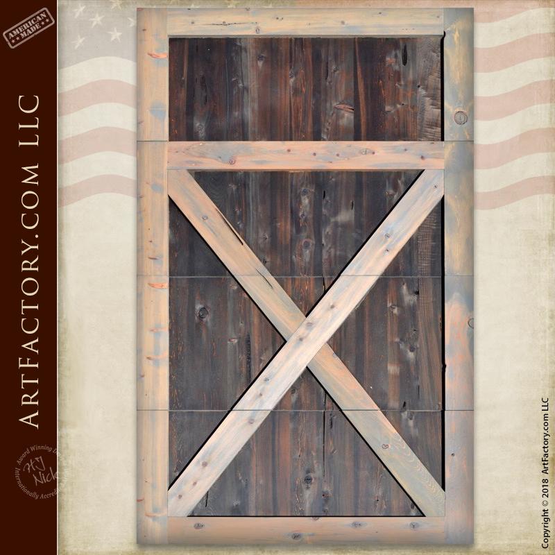 Crossbuck Garage Doors Master Handcrafted From Solid Wood