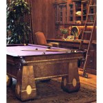 Pool Table The Medalist Antique Pool Table