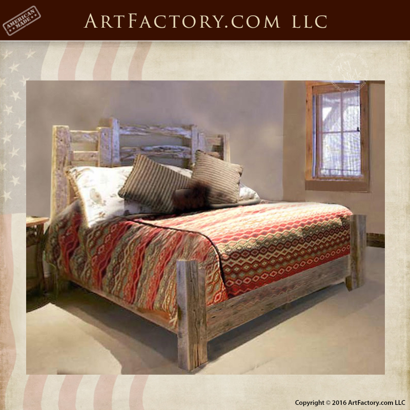 Rustic Western Style Beds Custom Handmade Bedroom Furniture Custom Rustic Western Bedroom Furniture
