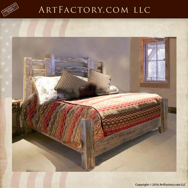 Rustic Western Style Beds U2013 Custom Handmade Bedroom Furniture U2013 BRS178