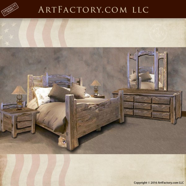 Rustic Western Style Beds