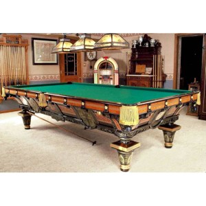 Tournament Billiard Table Brunswick & Balke Co 1878