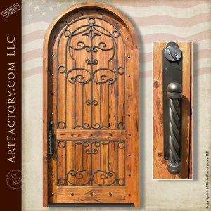 Decorative Iron Door Hardware