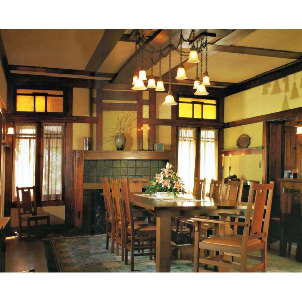 Arts And Crafts For Home Decor: Craftsman Style Dining Tables