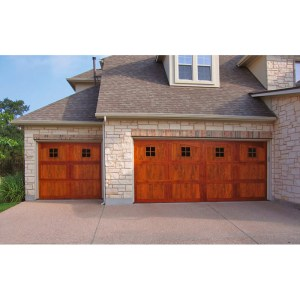 Garage Doors Craftsman Style Solid Wood