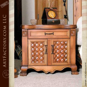 French Baroque Style nightstand