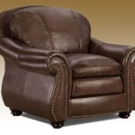 full grain leather custom sofa
