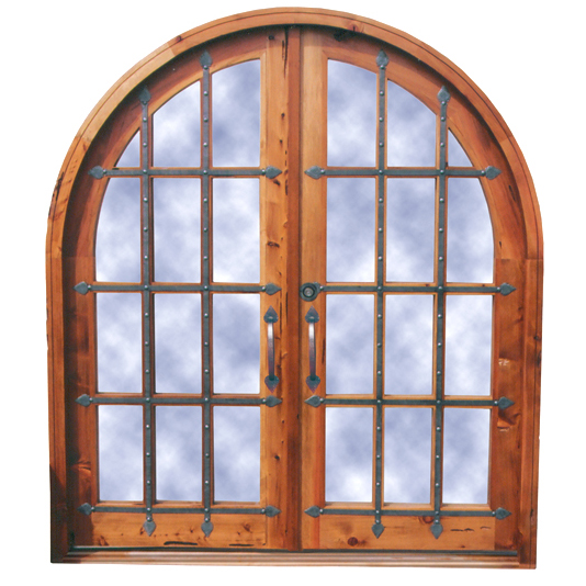 Door Arched Glass Doors 17th Cen Russia