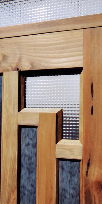 Door \u2013 Gamble House Cir 1908 America \u2013 8001GP & Gamble House Doors Custom Historical Door Solid Wood Glass