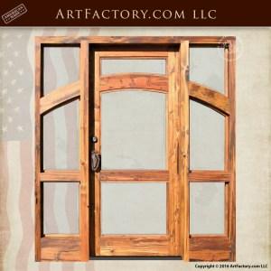 Custom Glass Panel entrance