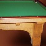 Pool Table Arts & Craftsman Pool Table 1900 America