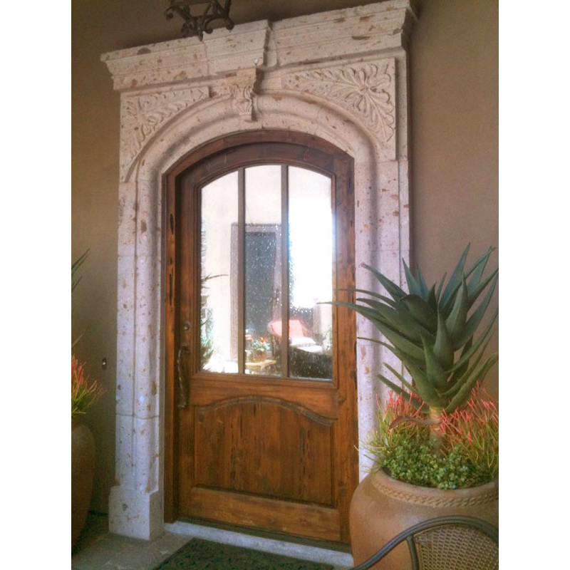 Door Designed From The Historical Record