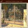 Italian Renaissance style estate gate