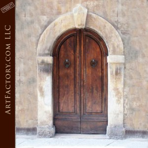 Custom Castle Arched Door
