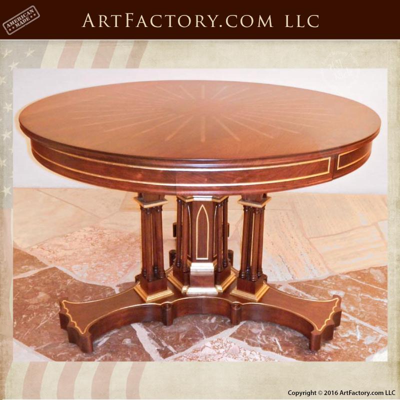 Cherry Wood Foyer Table