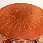 Foyer Table - Custom Handmade Solid Cherry Drum Table