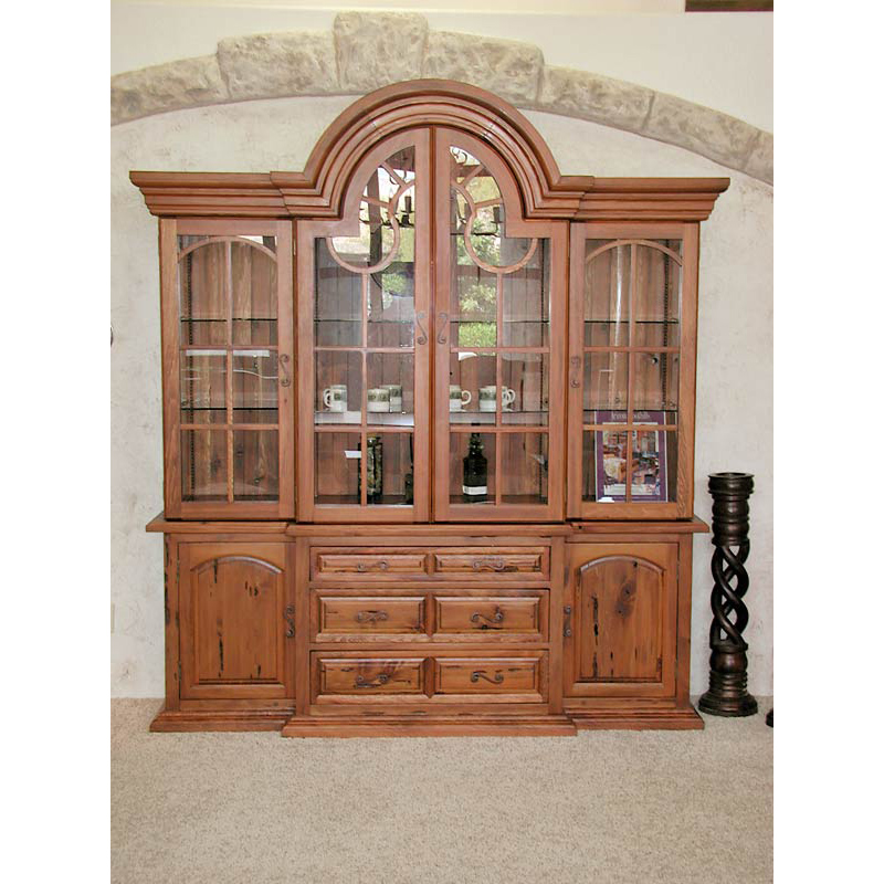 China Cabinet U2013 China Display Hutch U2013 CFH386