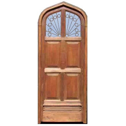 Cathedral Arched Door Design From Antiquity