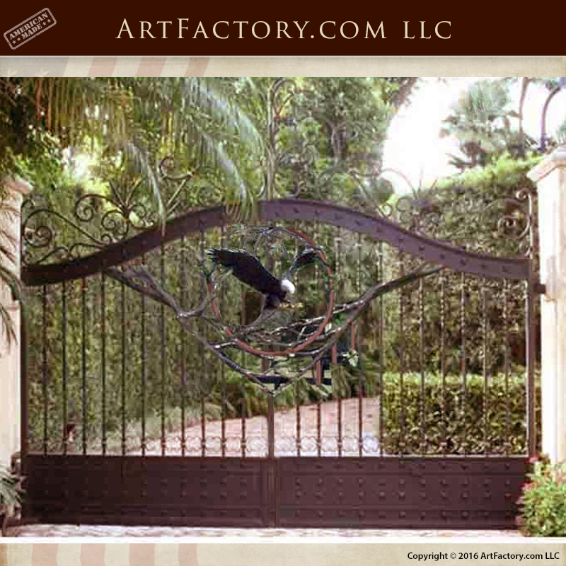 American Eagle Estate Gates
