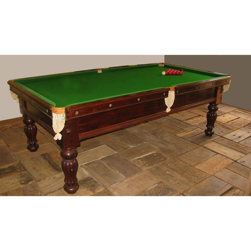 Billiards Table Design From Historic Record