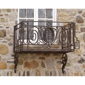 Wrought Iron Balcony and Wrought Iron Railings