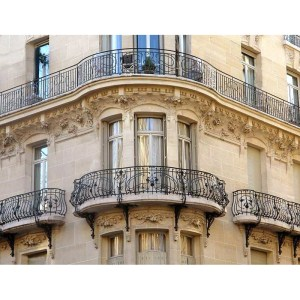 Balcony Design From Antiquity 19th Cen France
